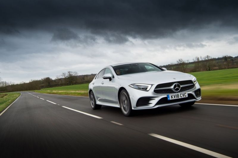 Mercedes-Benz CLS Test